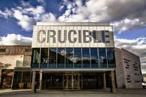 Crucible Theatre, Sheffield. Photo by Shane Rounce